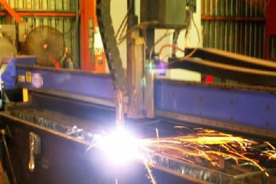 Plasma cutting steel and other metals