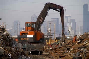 Scrap iron in Seattle